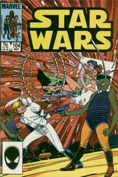Star Wars #104 comic books for sale