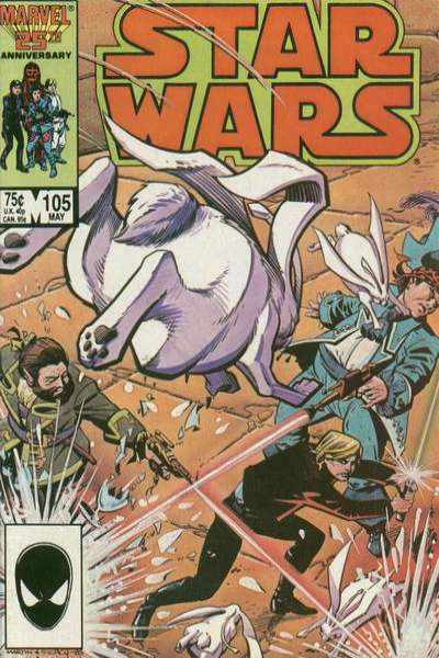 Star Wars #105 comic books - cover scans photos Star Wars #105 comic books - covers, picture gallery