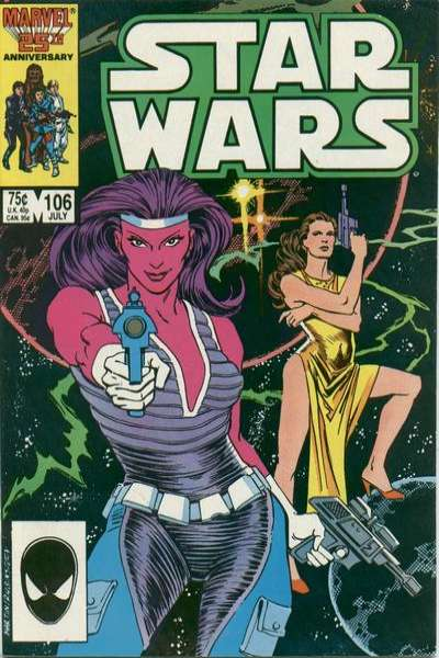 Star Wars #106 comic books - cover scans photos Star Wars #106 comic books - covers, picture gallery