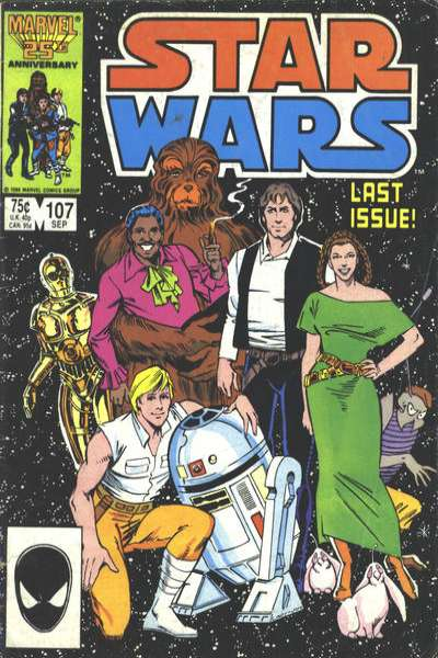 Star Wars #107 comic books - cover scans photos Star Wars #107 comic books - covers, picture gallery