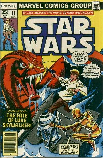Star Wars #11 comic books - cover scans photos Star Wars #11 comic books - covers, picture gallery