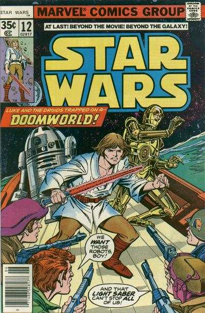 Star Wars #12 comic books - cover scans photos Star Wars #12 comic books - covers, picture gallery