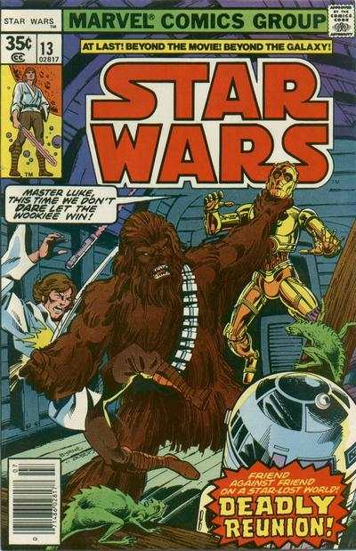 Star Wars #13 comic books - cover scans photos Star Wars #13 comic books - covers, picture gallery