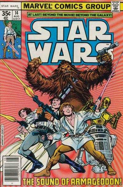 Star Wars #14 comic books - cover scans photos Star Wars #14 comic books - covers, picture gallery