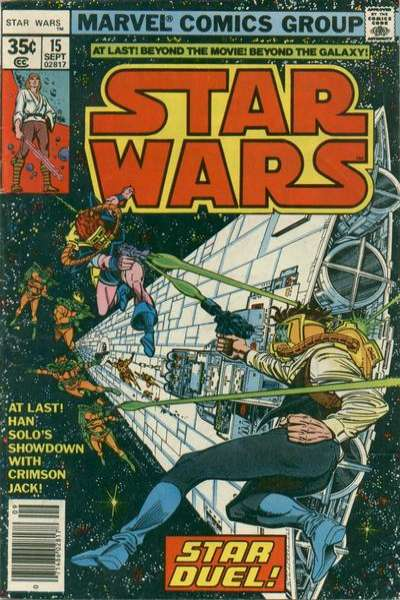 Star Wars #15 comic books - cover scans photos Star Wars #15 comic books - covers, picture gallery