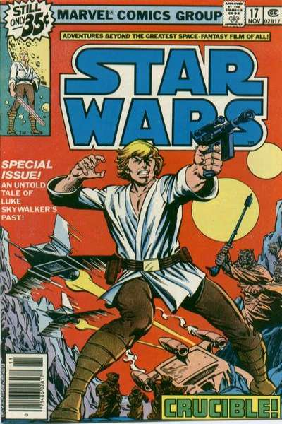 Star Wars #17 cheap bargain discounted comic books Star Wars #17 comic books