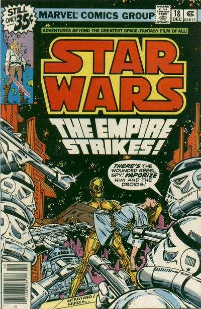 Star Wars #18 comic books - cover scans photos Star Wars #18 comic books - covers, picture gallery