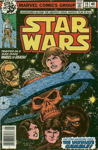 Star Wars #19 comic books - cover scans photos Star Wars #19 comic books - covers, picture gallery