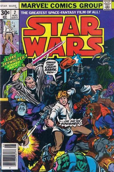 Star Wars #2 comic books - cover scans photos Star Wars #2 comic books - covers, picture gallery
