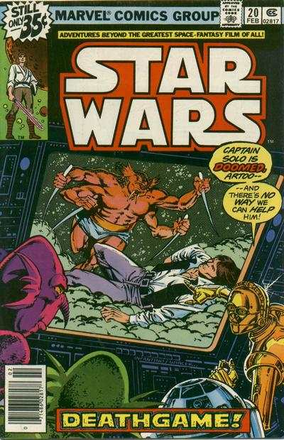 Star Wars #20 comic books - cover scans photos Star Wars #20 comic books - covers, picture gallery