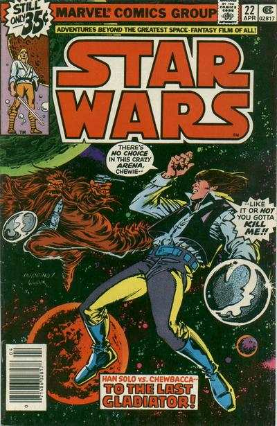 Star Wars #22 comic books for sale