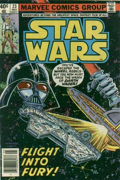 Star Wars #23 comic books - cover scans photos Star Wars #23 comic books - covers, picture gallery