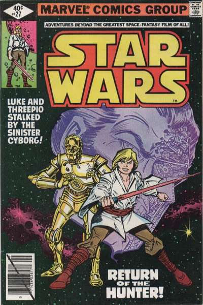 Star Wars #27 comic books - cover scans photos Star Wars #27 comic books - covers, picture gallery