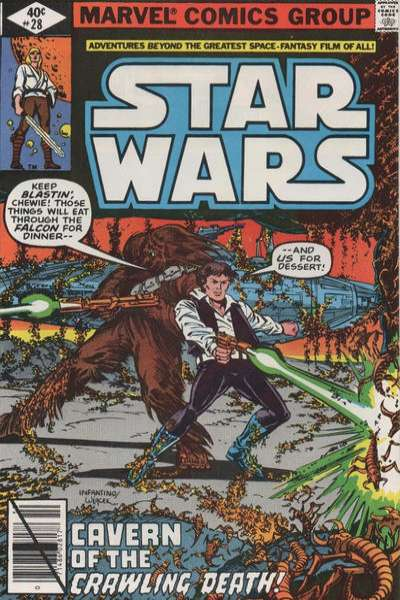 Star Wars #28 comic books - cover scans photos Star Wars #28 comic books - covers, picture gallery