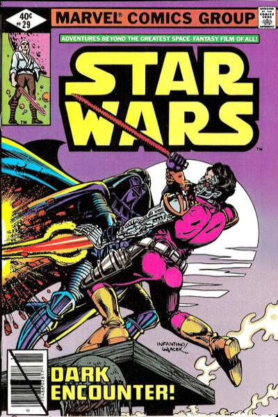 Star Wars #29 comic books - cover scans photos Star Wars #29 comic books - covers, picture gallery