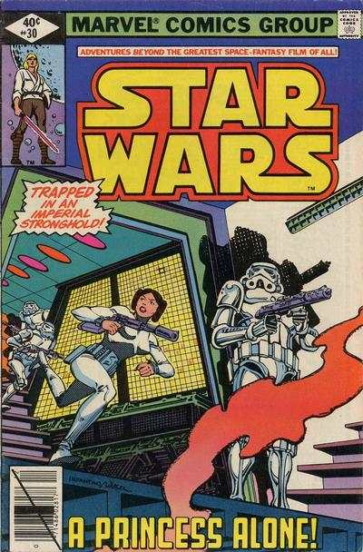 Star Wars #30 comic books - cover scans photos Star Wars #30 comic books - covers, picture gallery
