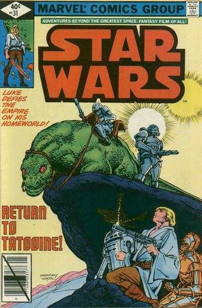 Star Wars #31 comic books - cover scans photos Star Wars #31 comic books - covers, picture gallery