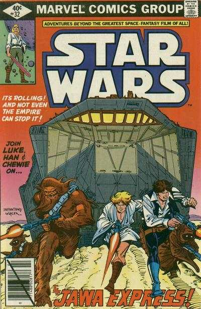 Star Wars #32 comic books - cover scans photos Star Wars #32 comic books - covers, picture gallery