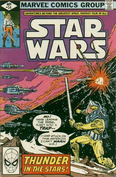 Star Wars #34 comic books - cover scans photos Star Wars #34 comic books - covers, picture gallery
