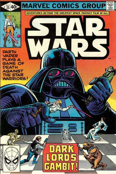 Star Wars #35 comic books - cover scans photos Star Wars #35 comic books - covers, picture gallery