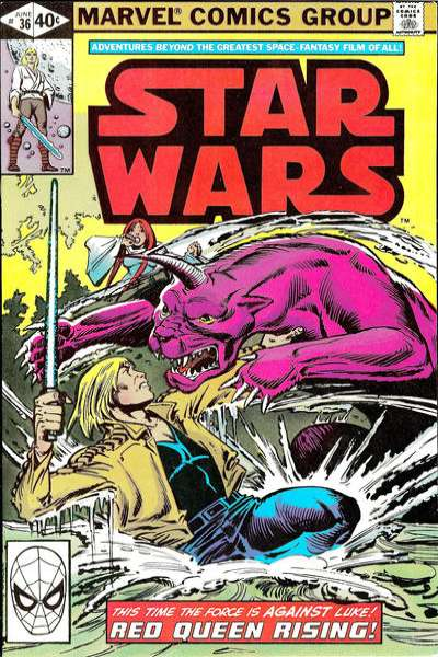 Star Wars #36 comic books - cover scans photos Star Wars #36 comic books - covers, picture gallery