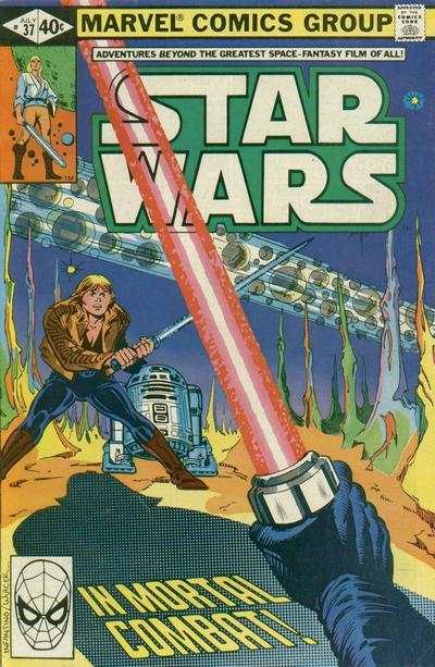 Star Wars #37 comic books - cover scans photos Star Wars #37 comic books - covers, picture gallery