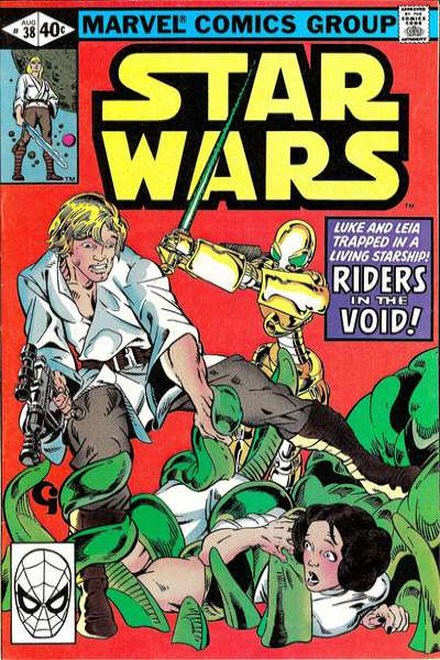Star Wars #38 comic books - cover scans photos Star Wars #38 comic books - covers, picture gallery