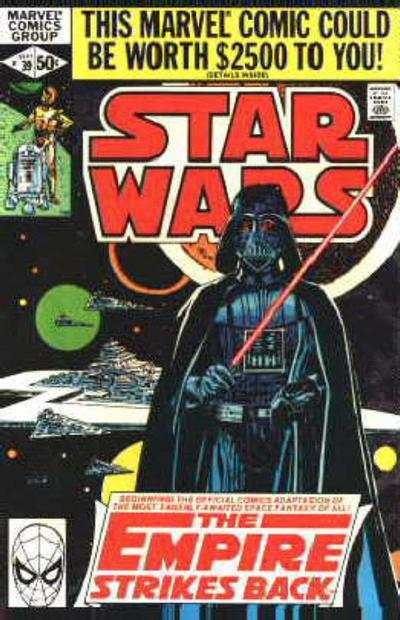 Star Wars #39 comic books - cover scans photos Star Wars #39 comic books - covers, picture gallery