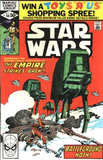 Star Wars #40 comic books - cover scans photos Star Wars #40 comic books - covers, picture gallery