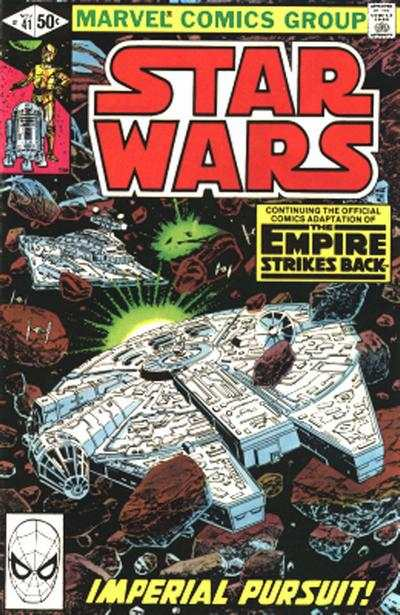 Star Wars #41 comic books - cover scans photos Star Wars #41 comic books - covers, picture gallery