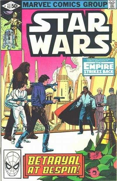 Star Wars #43 comic books for sale