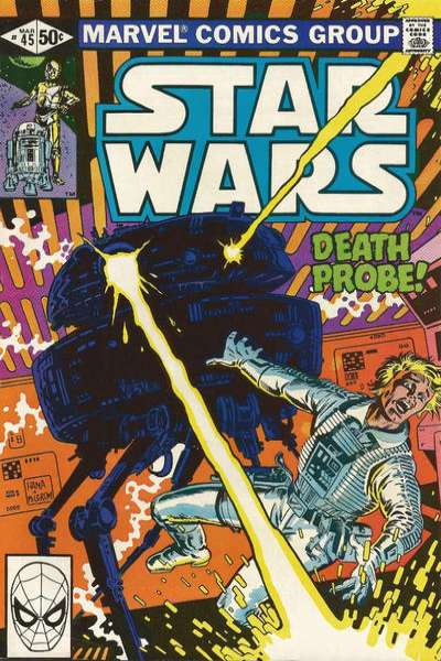 Star Wars #45 comic books - cover scans photos Star Wars #45 comic books - covers, picture gallery