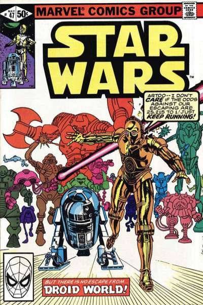 Star Wars #47 comic books - cover scans photos Star Wars #47 comic books - covers, picture gallery
