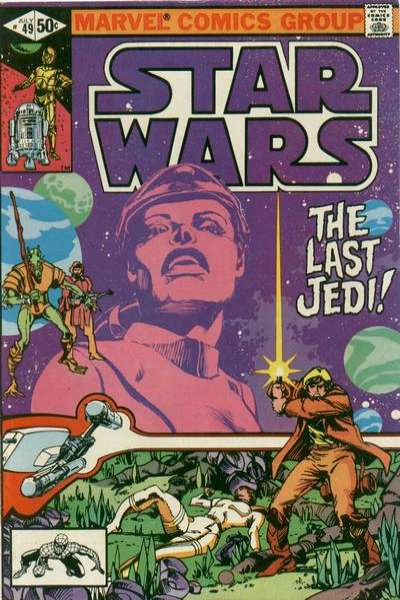 Star Wars #49 comic books - cover scans photos Star Wars #49 comic books - covers, picture gallery