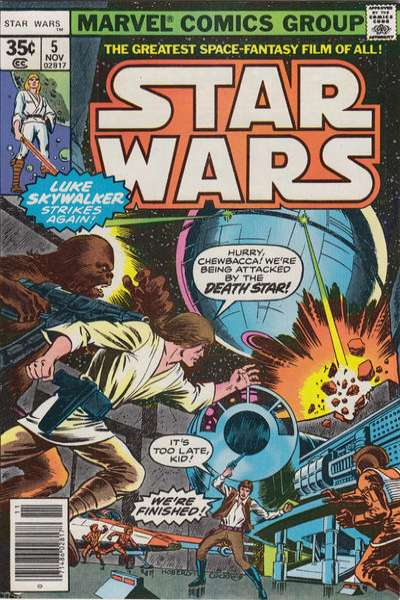 Star Wars #5 comic books - cover scans photos Star Wars #5 comic books - covers, picture gallery