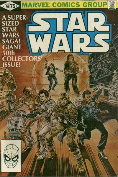 Star Wars #50 comic books - cover scans photos Star Wars #50 comic books - covers, picture gallery