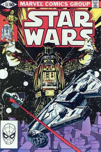 Star Wars #52 comic books - cover scans photos Star Wars #52 comic books - covers, picture gallery