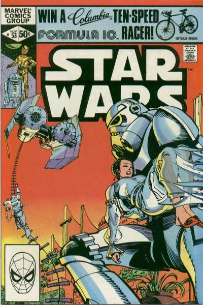 Star Wars #53 comic books - cover scans photos Star Wars #53 comic books - covers, picture gallery