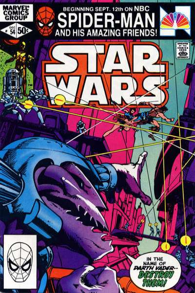 Star Wars #54 comic books - cover scans photos Star Wars #54 comic books - covers, picture gallery