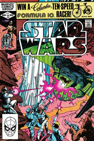 Star Wars #55 cheap bargain discounted comic books Star Wars #55 comic books
