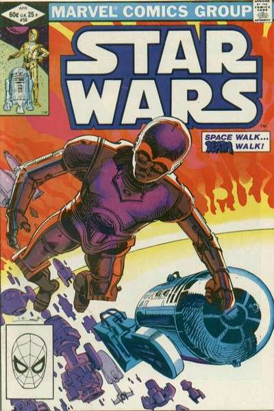 Star Wars #58 comic books - cover scans photos Star Wars #58 comic books - covers, picture gallery