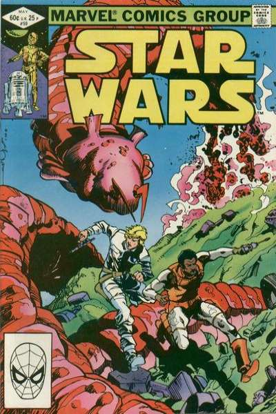 Star Wars #59 comic books - cover scans photos Star Wars #59 comic books - covers, picture gallery