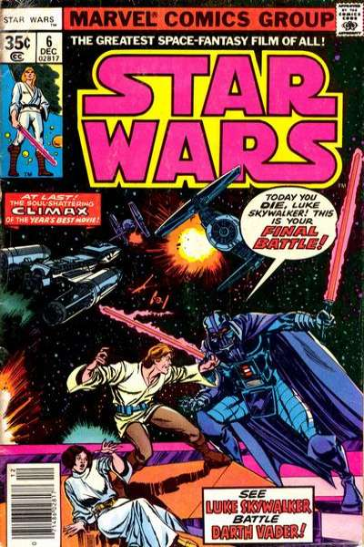 Star Wars #6 comic books - cover scans photos Star Wars #6 comic books - covers, picture gallery