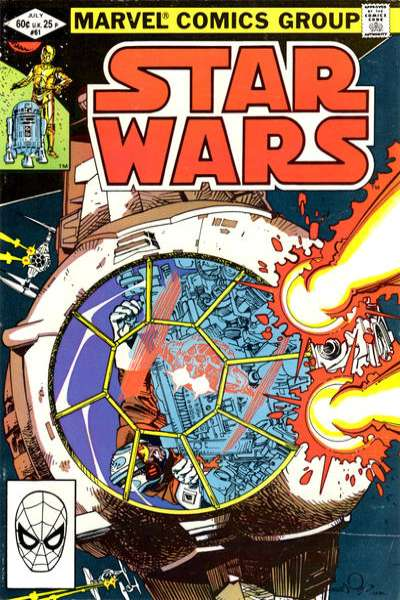 Star Wars #61 comic books - cover scans photos Star Wars #61 comic books - covers, picture gallery