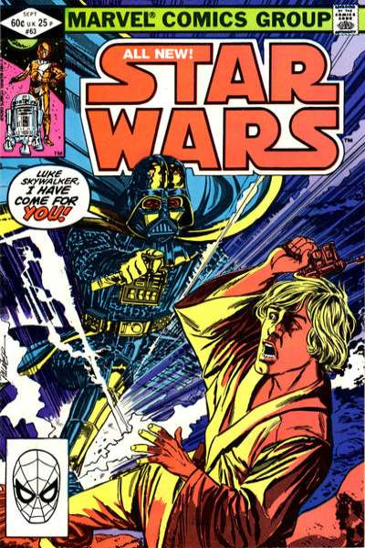 Star Wars #63 comic books - cover scans photos Star Wars #63 comic books - covers, picture gallery