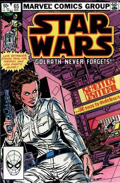 Star Wars #65 comic books - cover scans photos Star Wars #65 comic books - covers, picture gallery