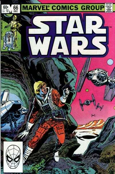 Star Wars #66 comic books - cover scans photos Star Wars #66 comic books - covers, picture gallery