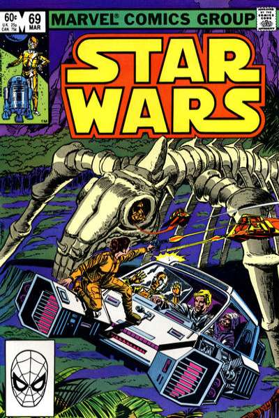 Star Wars #69 comic books - cover scans photos Star Wars #69 comic books - covers, picture gallery