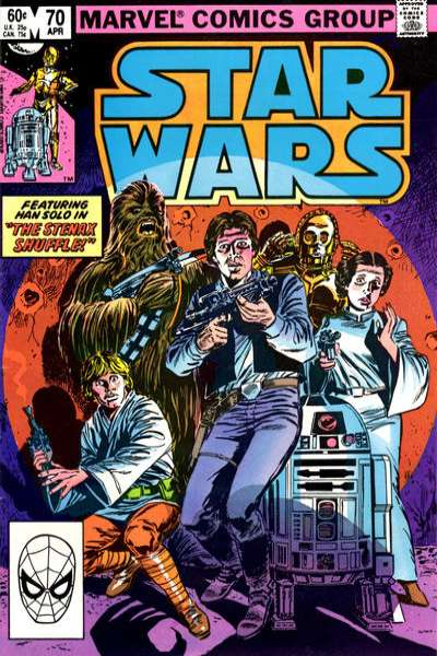Star Wars #70 comic books - cover scans photos Star Wars #70 comic books - covers, picture gallery