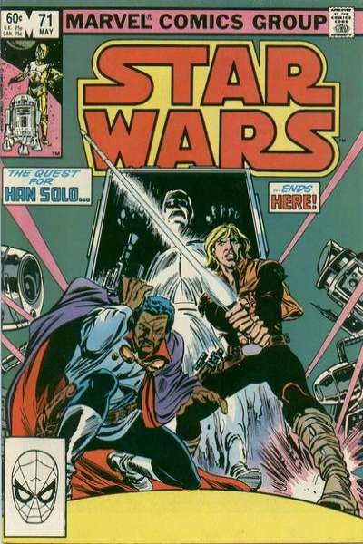 Star Wars #71 comic books - cover scans photos Star Wars #71 comic books - covers, picture gallery